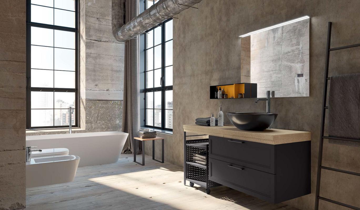 Mobili per il bagno for Arredo luce bologna