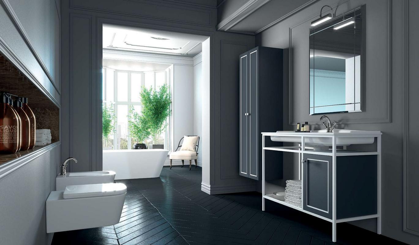 Mobili componibili per bagno affordable componibile bagno bianco misure xx cm arredo bagno per - Mobili componibili per bagno ...